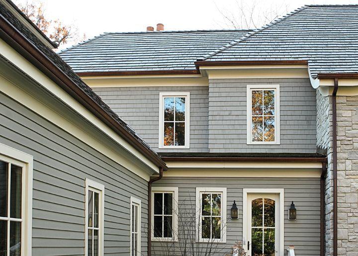 Interlocking Shingles on House