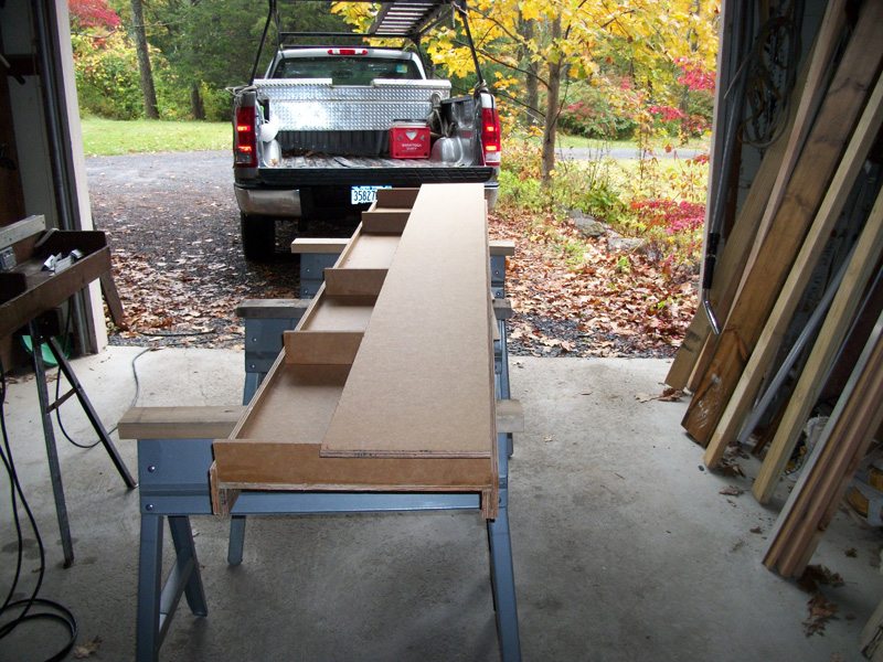 DIY Bench Step 7a