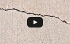 Sealing and Waterproofing Cracks in Concrete