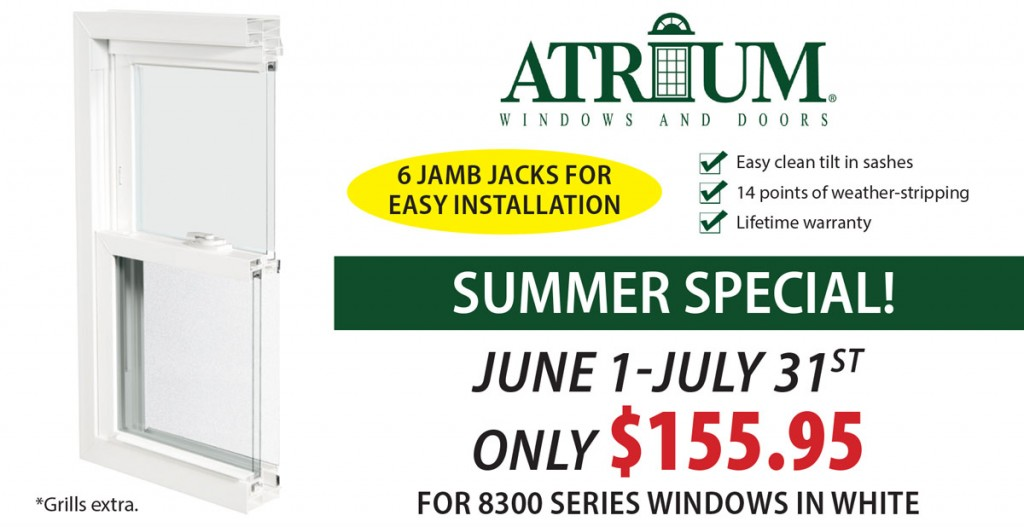 Atrium Window Summer Special