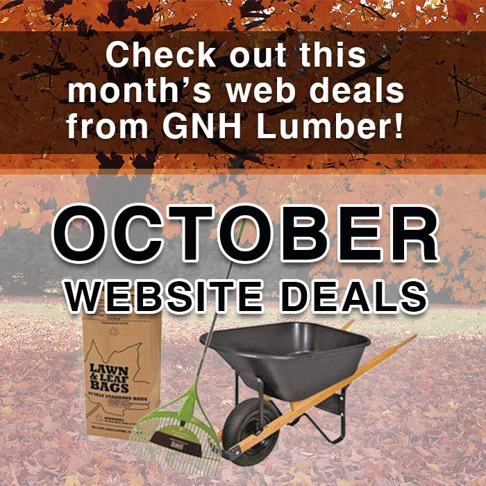 October Website Deals