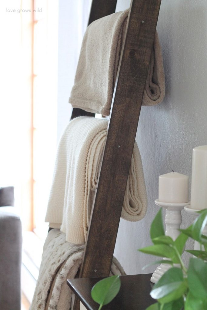 Blanket Ladder DIY