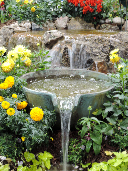 garden oasis water feature