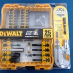Dewalt 25 pc screwdriver set