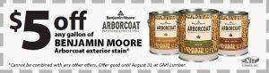 Ben Moore coupon