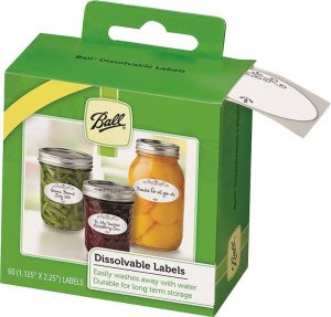Canning Jar Labels