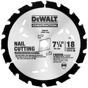 Dewalt Carbide Teeth Blade