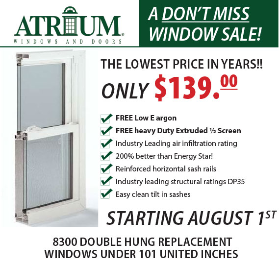 Atrium window promo