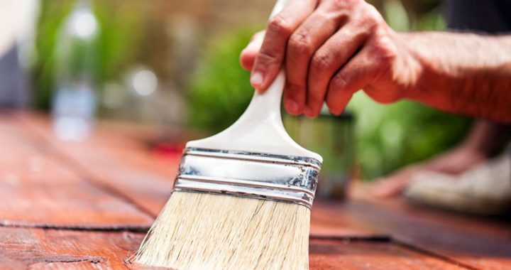 Painting Versus Staining