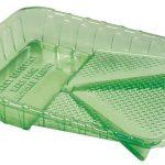 green paint tray