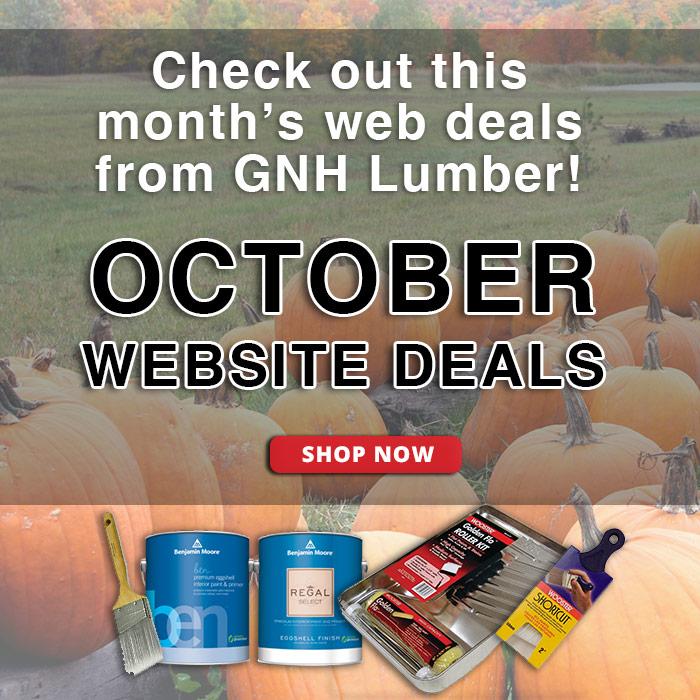 October Web Deals