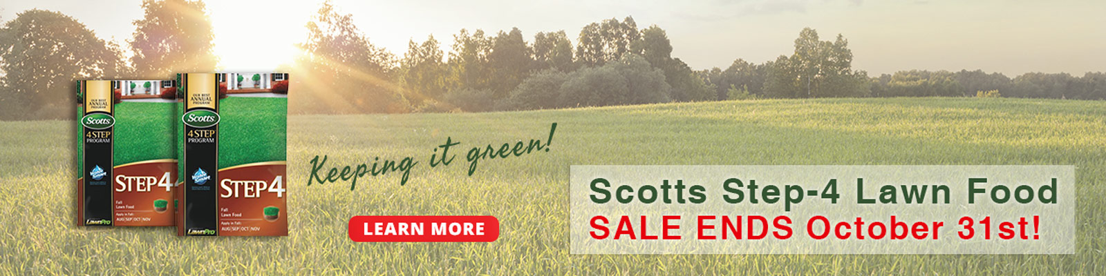 Scotts Step 4 Sale