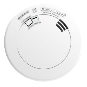 Smoke and CO Alarm with Voice