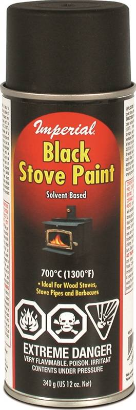 black stove paint