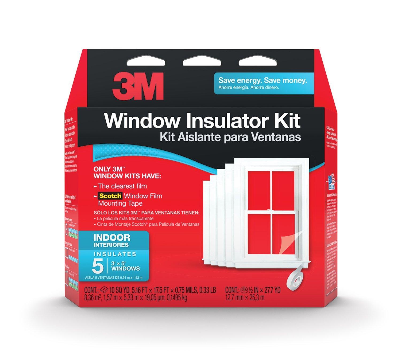 window insulation kit, 3x5