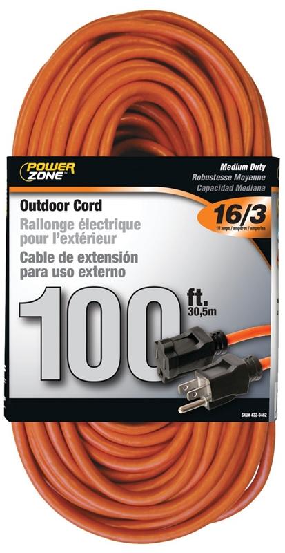 Orange Ext Cord