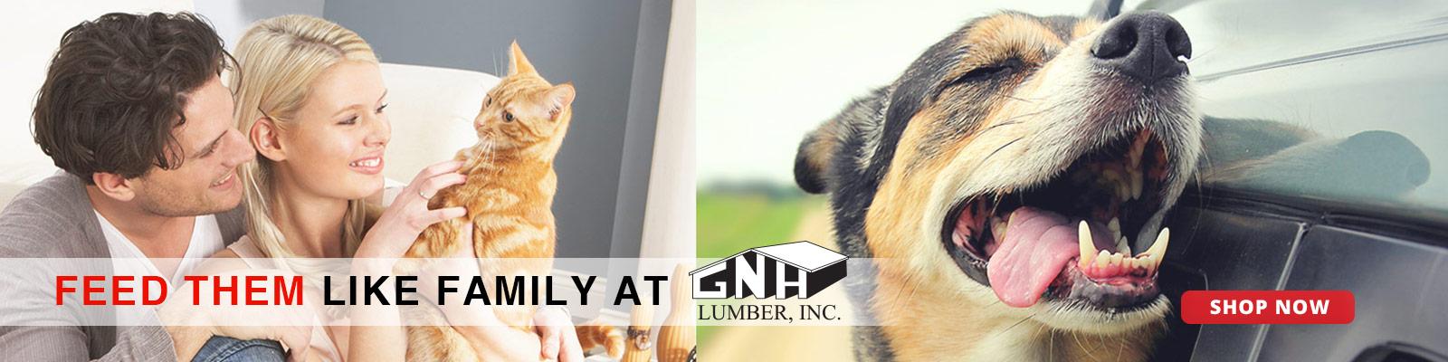 Pet Food at GNH Lumber