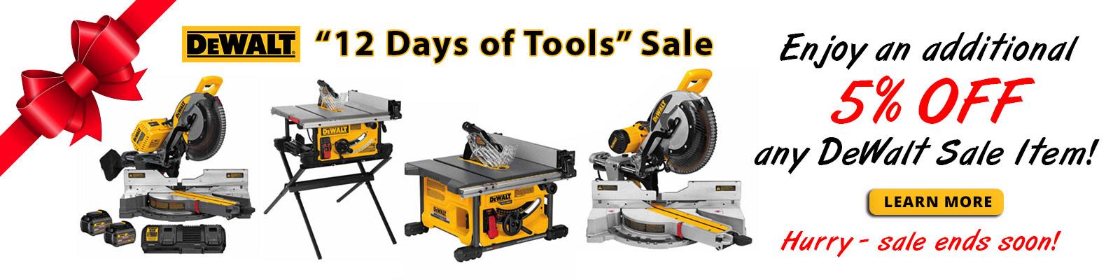 DeWalt Tool Sale