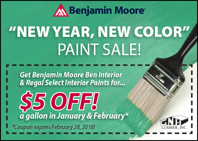 Ben Moore Paint Sale