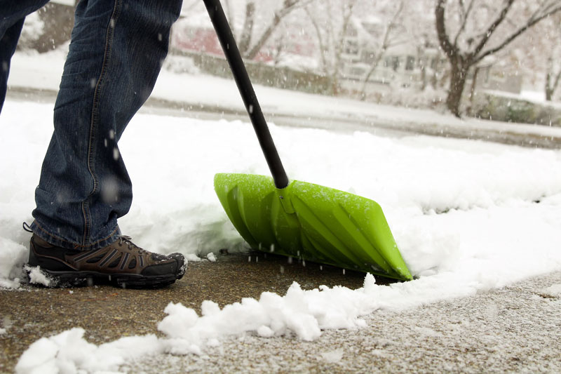 home maintenance-resolutions 2018 snow removal