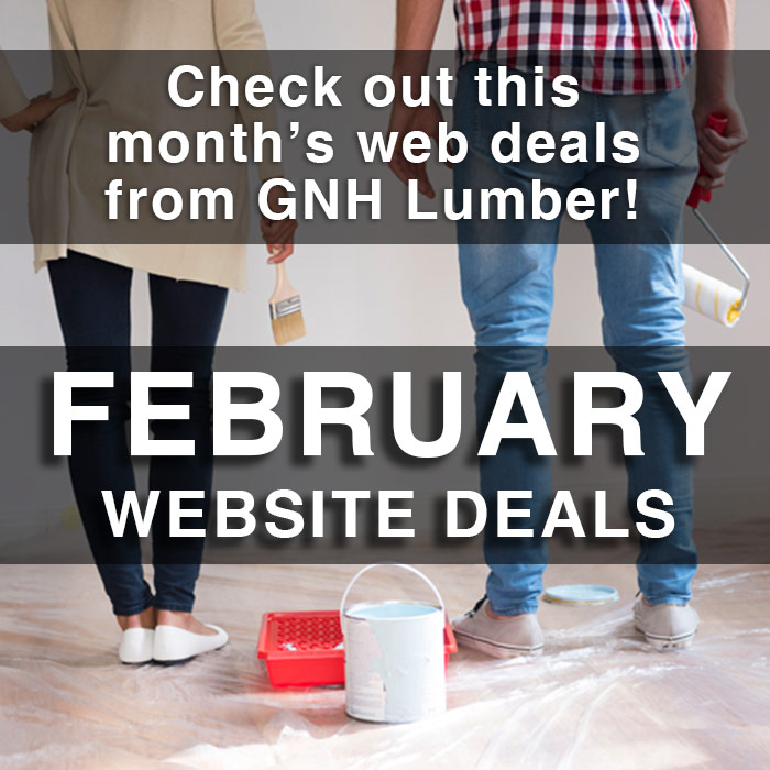 February Web Sales at GNH