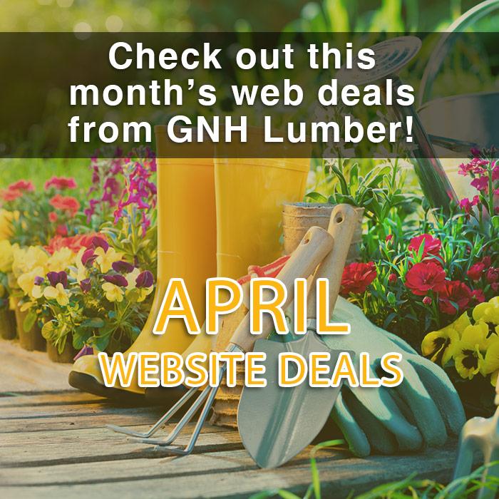 April web sales