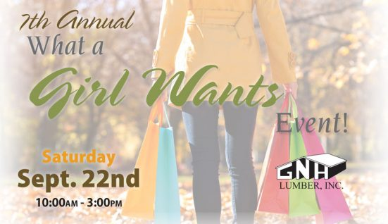 GNH What a Girl Wants Event