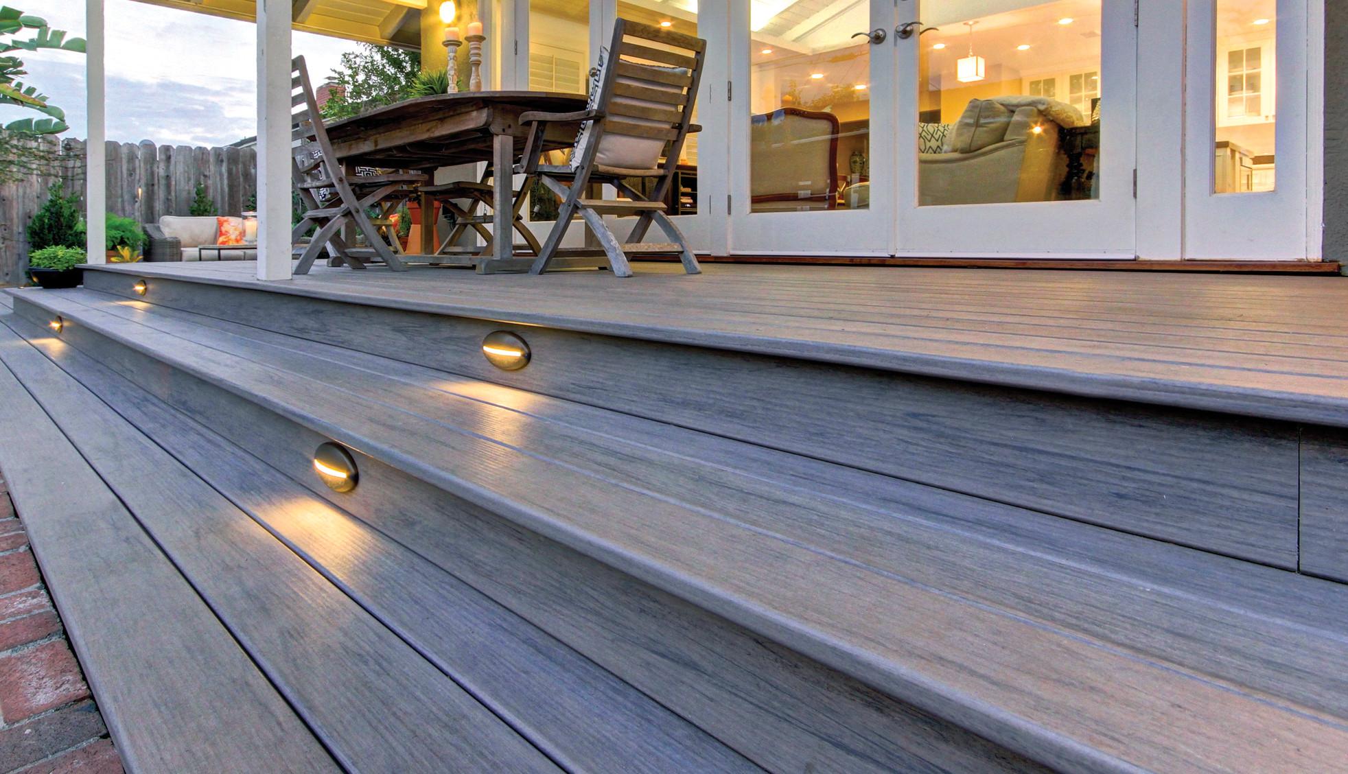 Soft Lighting for Deck Retreat