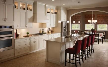 kitchen cabinets uplighting