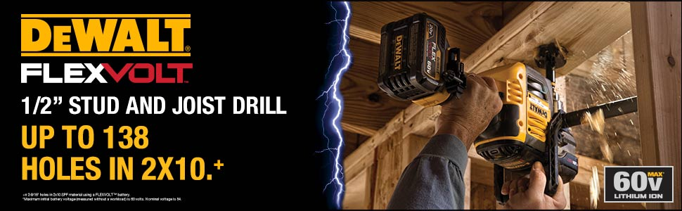 NEW! DeWalt FlexVolt Technology