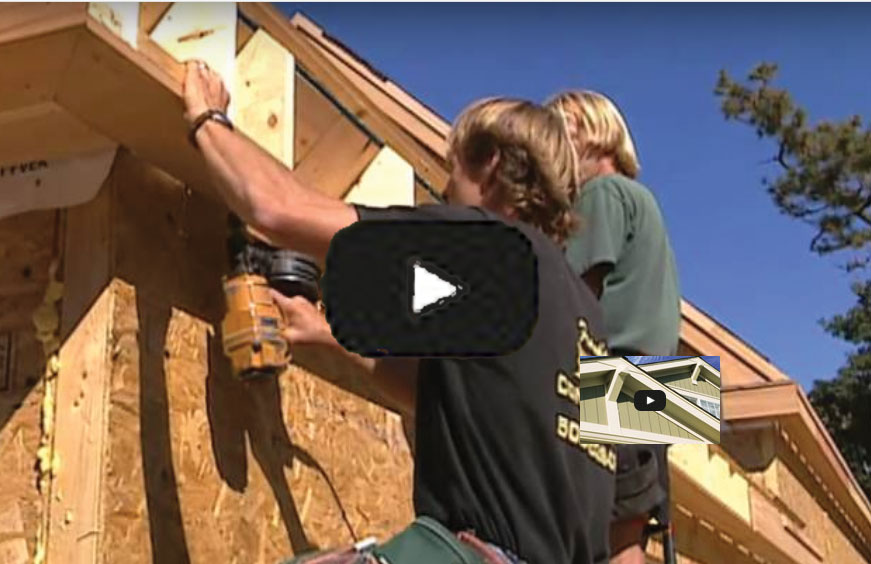 Watch video: How to Install Exterior Trim