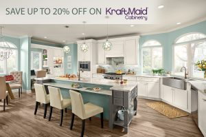 KraftMaid Cabinetry SALE - UP TO 20% OFF!