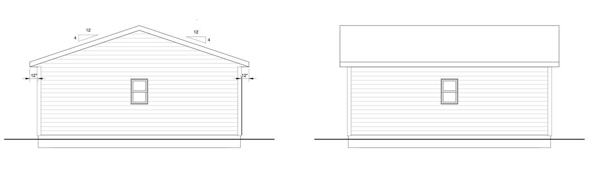 24 X 24 Garage Gnh Lumber Co