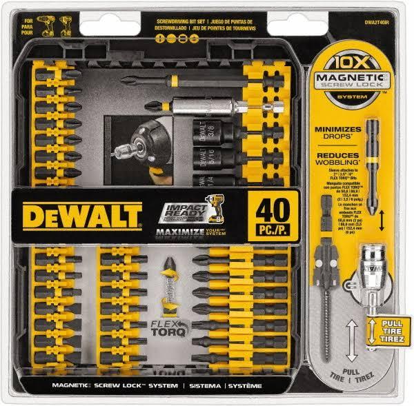 Dewalt 40 pc Screw Lock Set