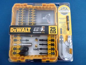 Dewalt 25 pc screwdriver set