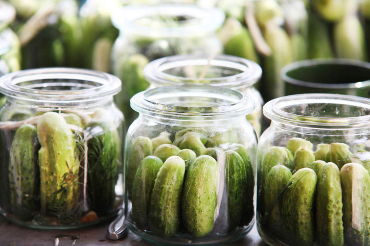Canning versus Pickling