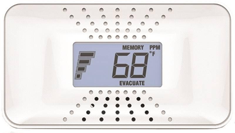 CO Alarm with Digital display