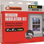 window insulation kit 9pk