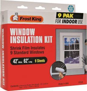 window insulation kit 9pk