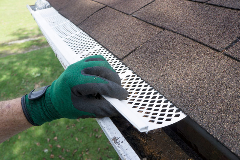 Install Gutter Guards