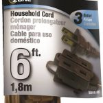 brown ext cord