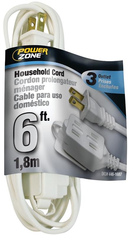 white ext cord