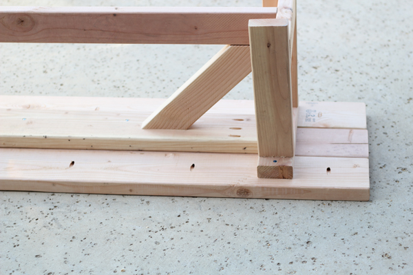 Rustic Bench seat boards