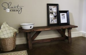 Read the article: DIY: How to Build a Rustic Bench