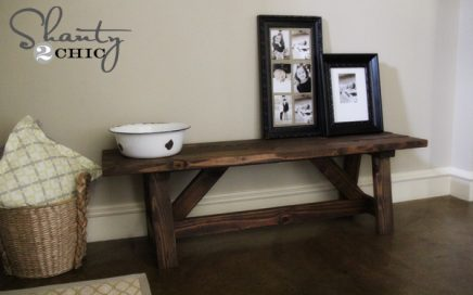 How to Build a Rustic Bench