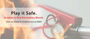 October is Fire Safety Month!
