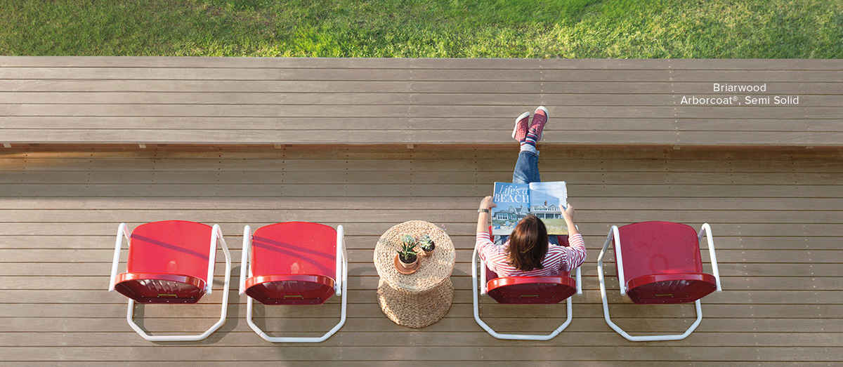 Choosing the Right Deck Stain