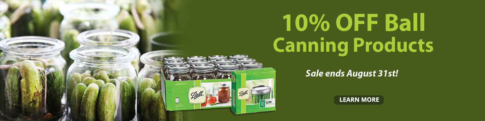 Canning Sale