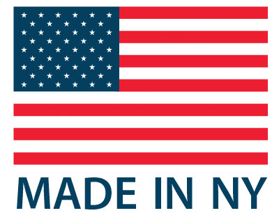 Proudly made in New York State.