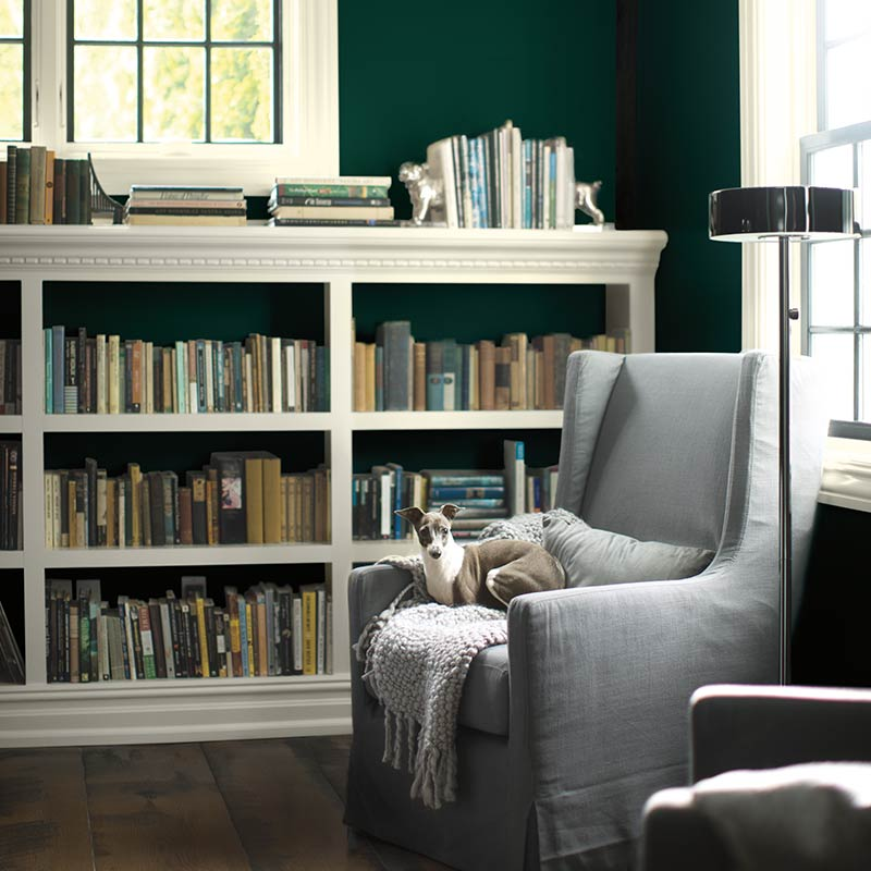 Painting with Benjamin Moore's Color Trends 2019 - Living Room